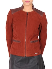 red leather jacket -  online shopping for jackets