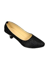 black fabric pumps -  online shopping for pumps