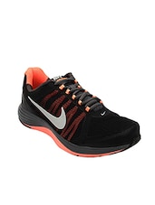 black mesh lace up sport shoes -  online shopping for Sport Shoes