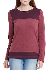 red fleece sweatshirt -  online shopping for sweatshirts