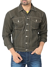 brown denim jacket -  online shopping for Denim Jacket