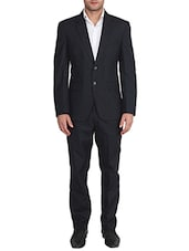 black polyester suits (business and party) -  online shopping for Suits (Business and Party)
