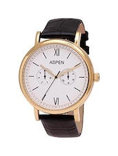Aspen Escape AM0077 Men's White Analog Watch -  online shopping for Analog Watches