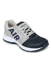 grey mesh lace up sport shoes -  online shopping for Sport Shoes