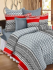 Story @ Home 120 TC 100% Cotton Grey 1 Double Bedsheet With 2 Pillow Cover -  online shopping for bed sheet sets