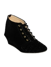 black patent leather lace up boots -  online shopping for boots