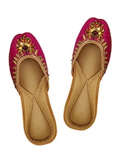 Bali with leaf juttis -  online shopping for Jutis & Mojaris
