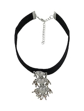 black metal choker necklace -  online shopping for Necklaces