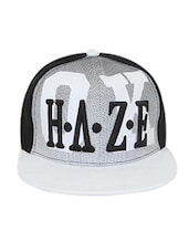 Black Polyester Cap - By - 12889109