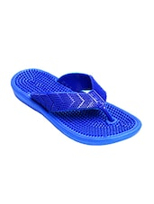 blue pu flip flops -  online shopping for Flip flops