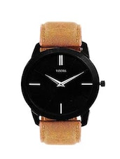 brown round dail analog watch -  online shopping for Analog Watches