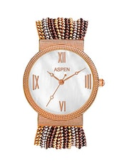 Aspen Feminine Exclusive AP1707C1 Ladies Silver Analog Watches -  online shopping for Wrist watches