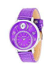 PURPLE ANALOG WOMEN'S WATCH -  online shopping for Analog Watches
