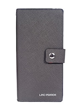 grey leatherette wallet -  online shopping for wallets