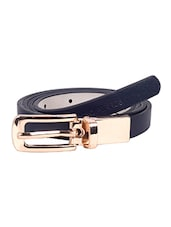 Blue Leatherette (pu Belt - By - 12910163