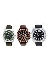 Combo of 3 Watch For Men -  online shopping for Watch Combos