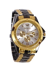 metallic stainless steel watch -  online shopping for Analog Watches