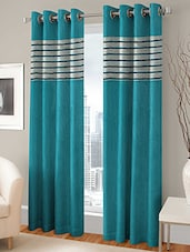 R Trendz Printed Set Of 6 Window Curtain - By