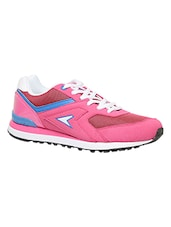 pink leatherette sports shoes -  online shopping for Sports Shoes