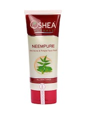 """Oshea Herbals Neempure, Anti Acne And Pimple Face Pack (120 G)"" - By"