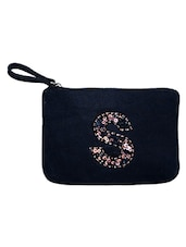 blue cotton pouch -  online shopping for Pouches