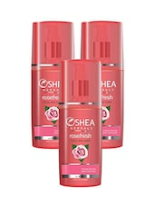 Oshea Herbals Rose Fresh Facial Skin Toner 120 Ml(Pack Of 3) (360 Ml) - By