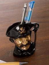 Multicolored Pirates Hand Collared Pen Stand - By