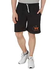 black cotton shorts -  online shopping for Shorts