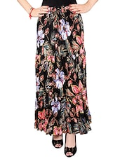 multi colored cotton maxi skirt -  online shopping for Skirts