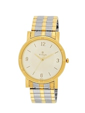 Titan 1639BM01C Multicolor Metal Watch For Men -  online shopping for Analog Watches