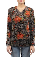 multi colored woollen pullover -  online shopping for Pullovers