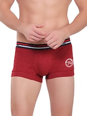 red melange cotton brief -  online shopping for Briefs