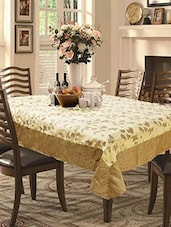 Brown Cotton Blend Table Cover -  online shopping for Table Cloths