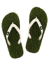 green pvc toe separator flip flops -  online shopping for Flip Flops