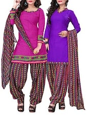Set Of Two Printed Suit Sets - By