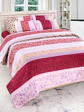 Furhome Printed Double Bed sheet With 2 Pillow Covers -  online shopping for bed sheet sets