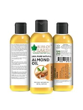 Bliss Of Earth 100% Pure Natural Almond Oil 100ML Coldpressed & Unrefined - By