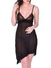 black satin babydoll -  online shopping for Babydolls