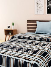 black checkered single bed blanket -  online shopping for Winter Quilts & Blankets