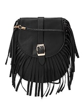 black leather sling bag -  online shopping for sling bags