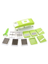 Famous 11 In 1 Quick Vegetable Cutter, Chopper, Slicer, Dicer, Grater - Green -  online shopping for Choppers, Graters & Peelers