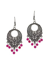 pink metal other earring -  online shopping for Earrings