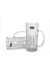 Natural CRYSTAL GLASS Beer Glasses - By