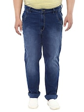 blue denim washed jean -  online shopping for Jeans