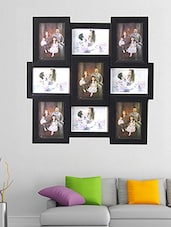 Black Plastic Wall Mounted Photo Frame - By