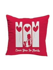 LOF Mom Gifts For Mother's Day Love You So Much 12x12 inches Cushion -  online shopping for Cushion Covers