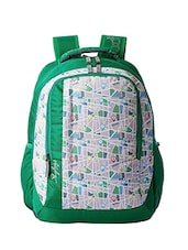 green polyester backpack -  online shopping for backpacks