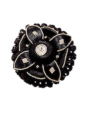 Premium range black hair bun -  online shopping for Hair accessories