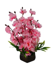 """""""The Fancy Mart Flower Plant-Multicolor Wild Flower Artificial Flower  With Pot (12 Inch, Pack Of 1)"""" - By"""