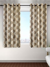 Cortina HS18 Plain Set Of 2 Window Curtain -  online shopping for Curtains